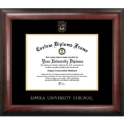 Campus Images NCAA Gold Embossed Diploma Picture Frame; Loyola Chicago Ramblers