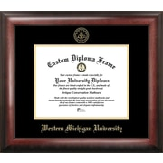 Campus Images NCAA Gold Embossed Diploma Picture Frame; Western Michigan Broncos