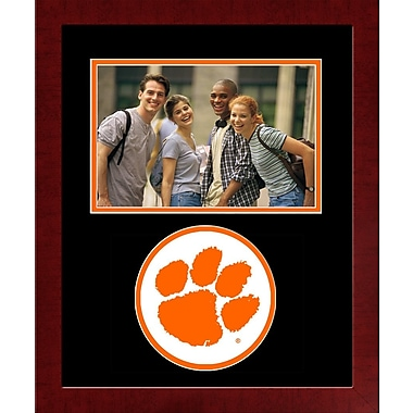 Campus Images NCAA Spirit Picture Frame; Clemson Tigers