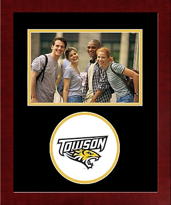 Campus Images NCAA Spirit Picture Frame; Towson Tigers