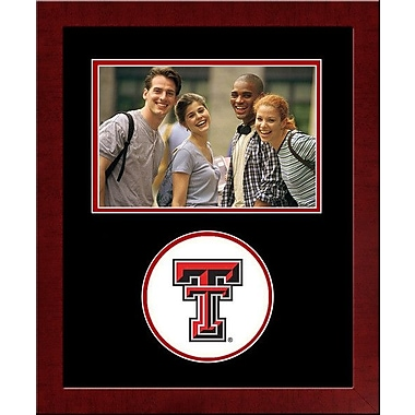 Campus Images NCAA Spirit Picture Frame; Texas Tech Red Raiders