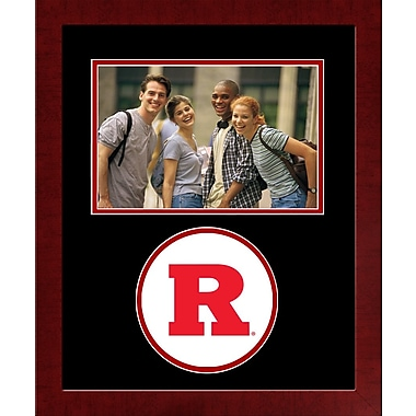 Campus Images NCAA Spirit Picture Frame; Rutgers Scarlet Knights