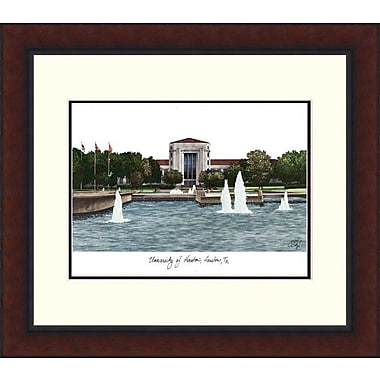 Campus Images Legacy Alumnus Lithograph Picture Frame; Houston Cougars