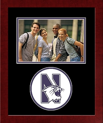Campus Images NCAA Spirit Picture Frame; Northwestern Wildcats