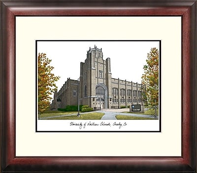 Campus Images Alumnus Framed Lithograph Picture Frame; Northern Colorado Bears
