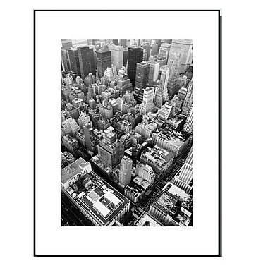 3 Panel Photo Wood Mounted Skyline Manhattan Framed Photographic Print