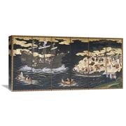 Global Gallery Arrival of the Southern Barbarians Painting Print on Wrapped Canvas