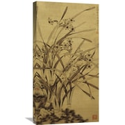 Global Gallery 'Narcissus' by Ma Shouzhen Painting Print on Wrapped Canvas