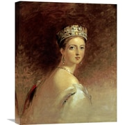 Global Gallery 'Queen Victoria' by Thomas Sully Painting Print on Wrapped Canvas