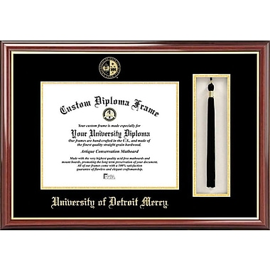 Campus Images NCAA Tassel Box and Diploma Picture Frame; Detroit Titans