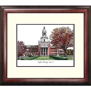 Campus Images Alumnus Lithograph Framed Photographic Print; Baylor Bears