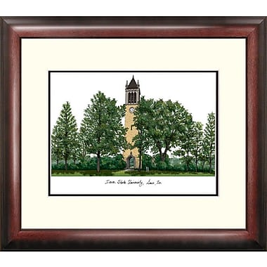 Campus Images Alumnus Lithograph Framed Photographic Print; Iowa State Cyclones