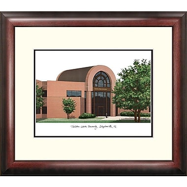 Campus Images Alumnus Lithograph Framed Photographic Print; Tarleton State Texans