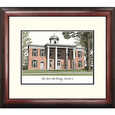 Campus Images Alumnus Lithograph Framed Photographic Print; Sam Houston State Bearkats