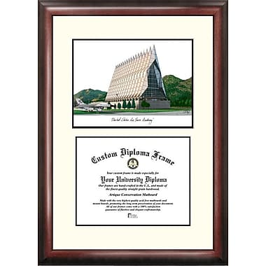 Campus Images NCAA Scholar Diploma Picture Frame; St. Johns Red Storm