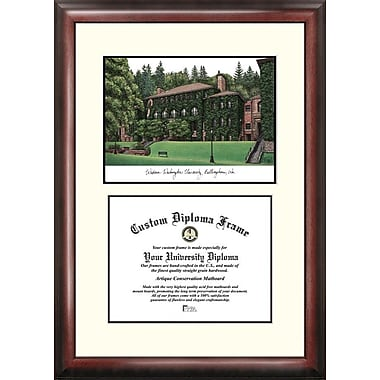 Campus Images NCAA Scholar Diploma Picture Frame; Western Washington Vikings