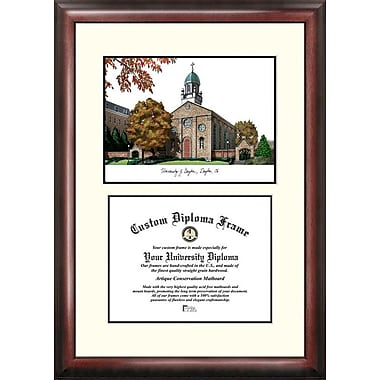 Campus Images NCAA Scholar Diploma Picture Frame; Dayton Flyers