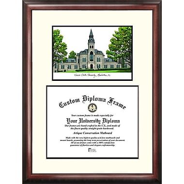 Campus Images NCAA Scholar Diploma Picture Frame; Kansas State Wildcats