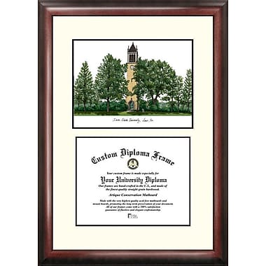 Campus Images NCAA Scholar Diploma Picture Frame; Iowa State Cyclones
