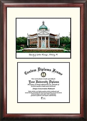 Campus Images NCAA Scholar Diploma Picture Frame; Southern Mississippi Golden Eagles
