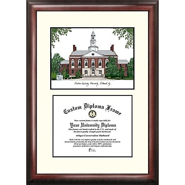 Campus Images NCAA Scholar Diploma Picture Frame; Eastern Kentucky Colonels