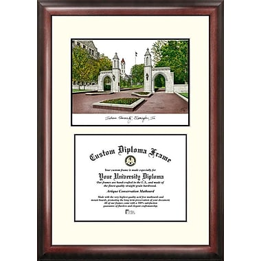 Campus Images NCAA Scholar Diploma Picture Frame; Indiana Hoosiers