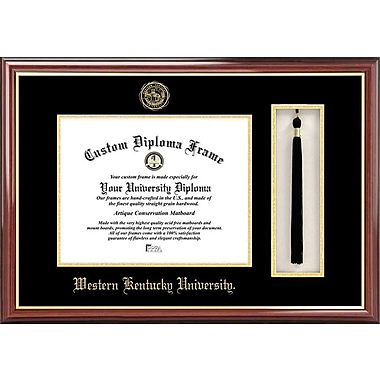 Campus Images NCAA Tassel Box and Diploma Picture Frame; Western Kentucky Hilltoppers