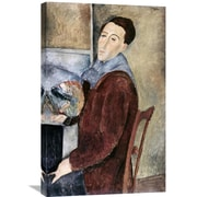 Global Gallery 'Self-Portrait' by Amedeo Modigliani Painting Print on Wrapped Canvas
