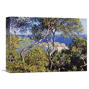 Global Gallery 'Bordighera' by Claude Monet Painting Print on Wrapped Canvas