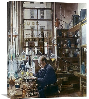 Global Gallery 'Laboratory of Thos Price' by Henry Alexander Painting Print on Wrapped Canvas