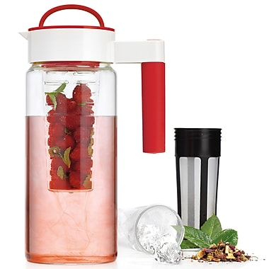Home Essentials and Beyond 55.8 oz. Pitcher; Red