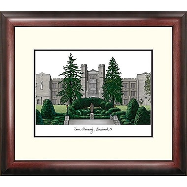 Campus Images Alumnus Lithograph Framed Photographic Print; Xavier Musketeers