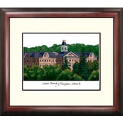 Campus Images Alumnus Lithograph Framed Photographic Print; Indiana University PA