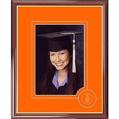 Campus Images Graduate Portrait Picture Frame; Miami Hurricanes