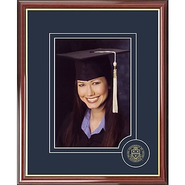 Campus Images Graduate Portrait Picture Frame; Pittsburgh Panthers