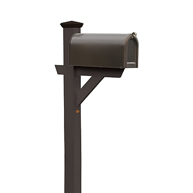 Buyers Choice Phat Tommy 5 Ft. H In-Ground Decorative Post; Black