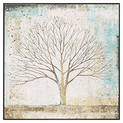 Propac Images Solitary Tree Collage Framed Graphic Art