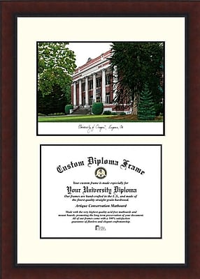 Campus Images NCAA University of Oregon Legacy Scholar Diploma Picture Frame