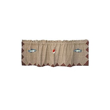 Patch Magic Gone Fishing 54'' Curtain Valance