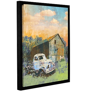 ArtWall 'Abandoned' by Greg Simanson Framed Graphic Art on Wrapped Canvas; 24'' H x 18'' W
