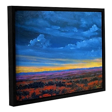 ArtWall 'Shadow Moses' by Gene Foust Framed Painting Print on Wrapped Canvas; 36'' H x 48'' W