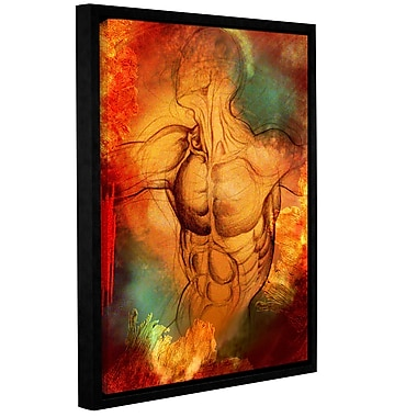 ArtWall 'Birthright IV' by Greg Simanson Framed Graphic Art on Wrapped Canvas; 32'' H x 24'' W