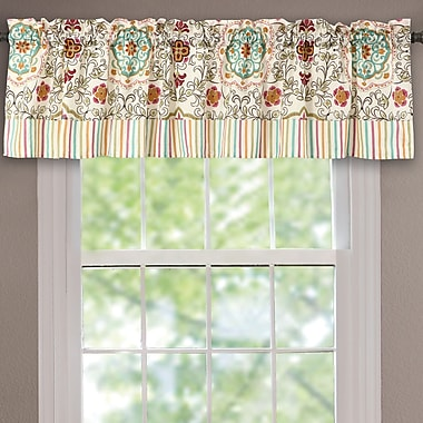 Greenland Home Fashions Esprit 84'' Curtain Valance; Spice