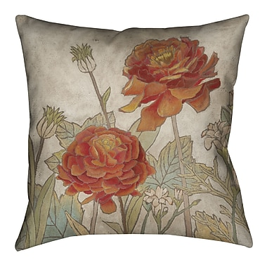 LauralHome Sun Blooms Outdoor Throw Pillow