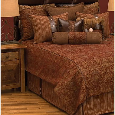 Wooded River Milady Bed Skirt; Twin