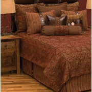 Wooded River Milady Bed Skirt; King
