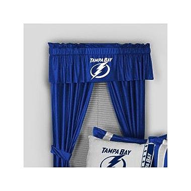 Sports Coverage NHL Tampa Bay Lightning 88'' Curtain Valance