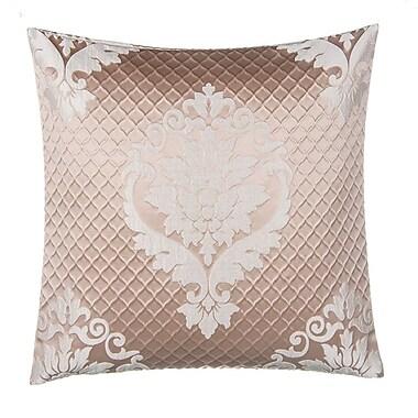 Grouchy Goose Jacquard w/ Damask Throw Pillow