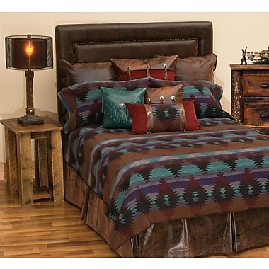 Wooded River Painted Desert II Bed Skirt; Twin