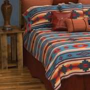 Wooded River Crystal Creek Bed Skirt; Queen